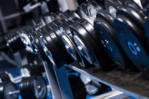 Image: Weights Rack